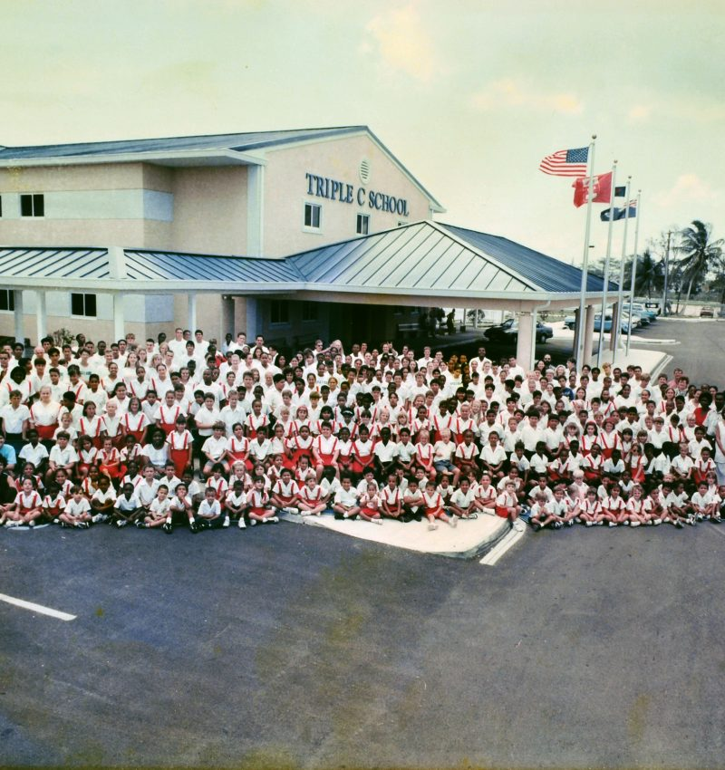 Triple C School - Whole School Photo - 1997
