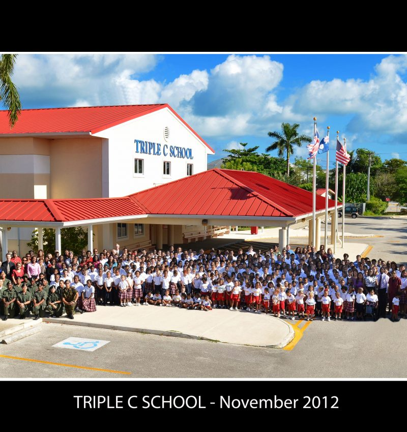 Triple C School - Whole School Photo - 2012